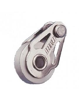 Poulie Ø25mm simple réa aluminium