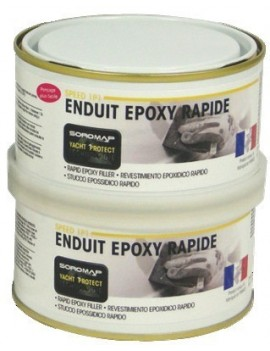 Mastic Epoxy + catalyseur 1/1 400g