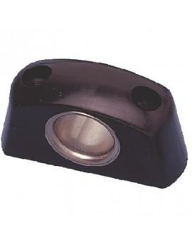 Filoir noir 5mm bague