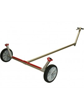 Chariot Laser roue large increvable Ø280mm