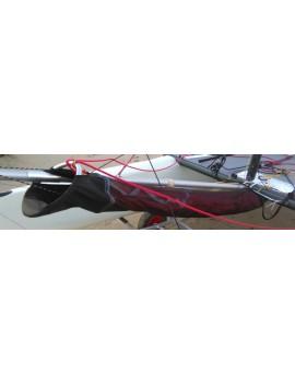 Chaussette avaleur de spi Tyka/Sonic/Twincat 15 STD/Sport - noire