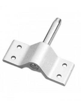 Aiguillot aluminium 4 trous Ø9.5mm