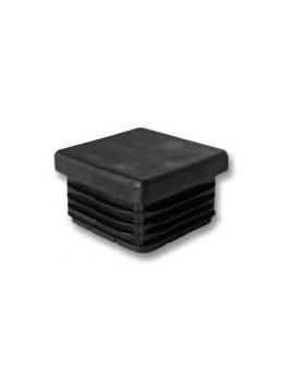 Bouchon carré pour tube 25X25mm
