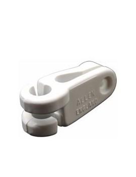 Crochet 1/4 de tour pour câble Ø3-4mm