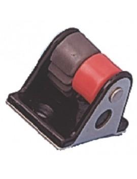 Lance-cleat Aluminium 5-10mm rouge droite
