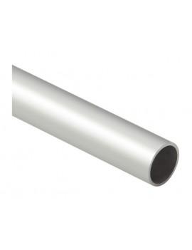 Tube Aluminium Ø45x2 anodisé gris - 5.25ml