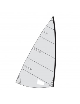 Voile adaptable Funboat - Dacron 210g