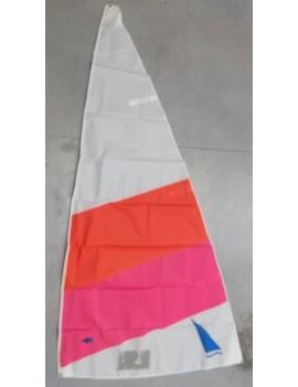 GV Mini Solitaire dacron blanc/rose