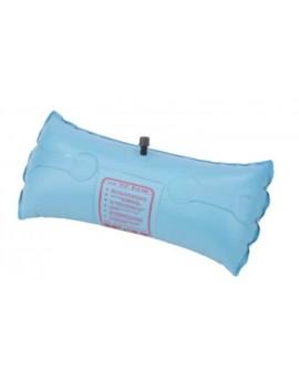 Flottabilité gonflable PVC recangulaire blanche 45,7x15cm