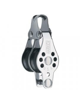 Poulie micro-block double ringot Ø22 mm - HARKEN