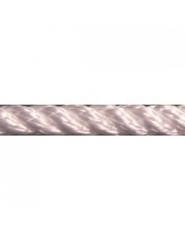 Cordage polyester 3 torons Ø4mm - blanc