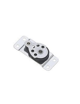 Poulie micro inox Ø25mm simple plat pont -  -