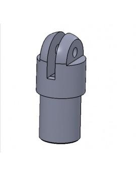 Embout pousse-bas Twiner aluminium