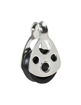 Micro-poulie à oeil Ø17mm