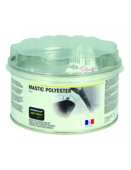 Mastic polyester finition