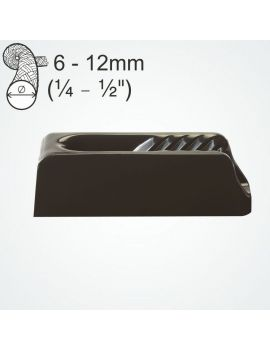 Clam-Cleat 12mm nylon fermé