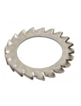 Rondelle éventail Ø5mm inox A4 (Les 10)