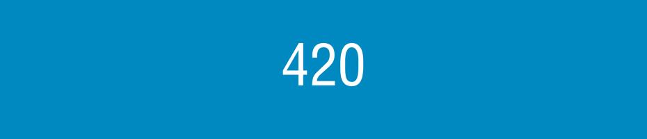 Dériveur 420