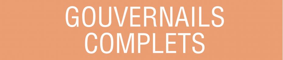 gouvernails complets