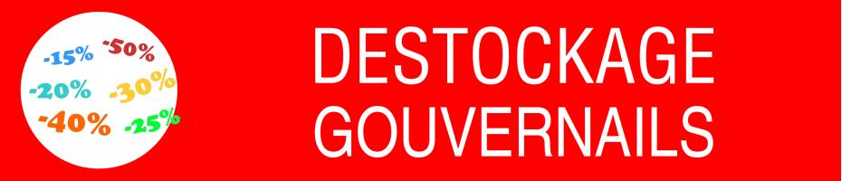 Déstockage Gouvernail